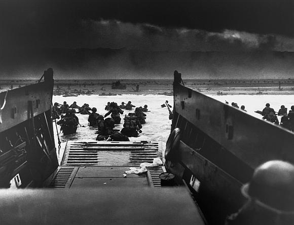 Sąjungininkų išsilaipinimas Normandijoje 1944 metų birželio 6 dieną.