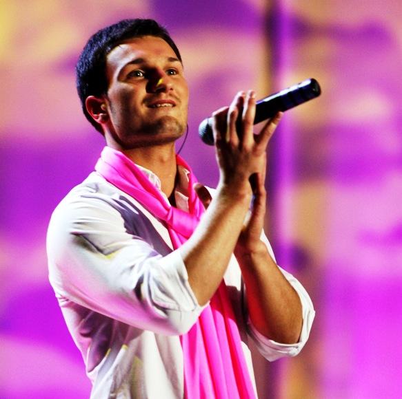 Dainininkas Vaidas Baumila.