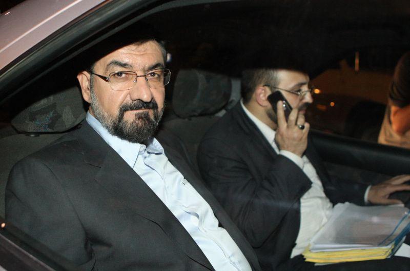 Kandidatas Mohsenas Rezai