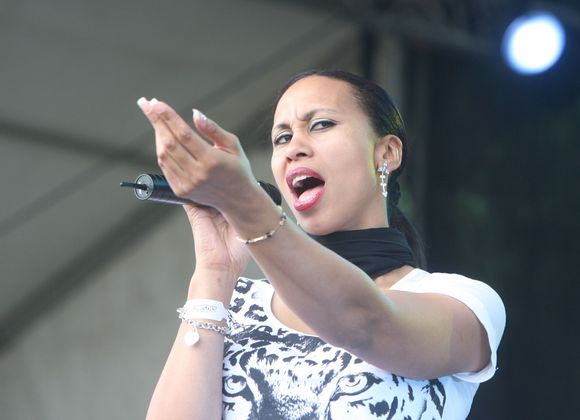 """Touch & Go"" vokalistė Vanessa Lancaster"