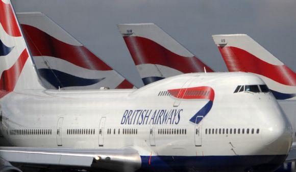 """Praėjusį mėnesį """"British Airways"""" patyrė rekordinį 656 mln. dolerių nuostolį."""