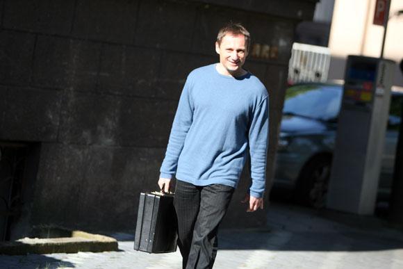 G. Petrikas eina į Kauno apygardos teismą.