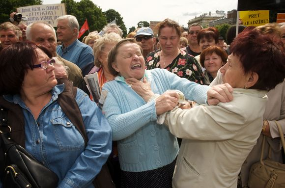 """Manifestacijas """"Už Latviją! Prieš neteisingumą!"""""""