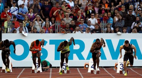 Usianas Boltas pražiopsojo startą Ostavoje