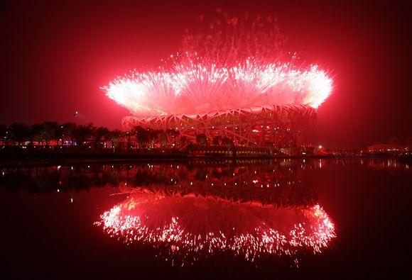 Pekino olimpiados atidarymo ceremonija buvo įspūdinga