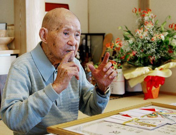 Mirė seniausias pasaulio žmogus Tomoji Tanabe