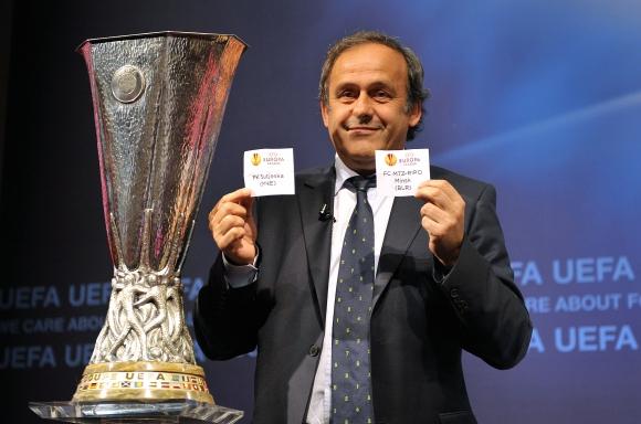 UEFA Europos lygos pirmojo ir antrojo kvalifikacinių etapų burtų traukimo ceremonija.