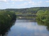 RST nuotr./Pėsčiųjų tiltas, per kurį nutiestą kabelį buvo bandoma pavogti