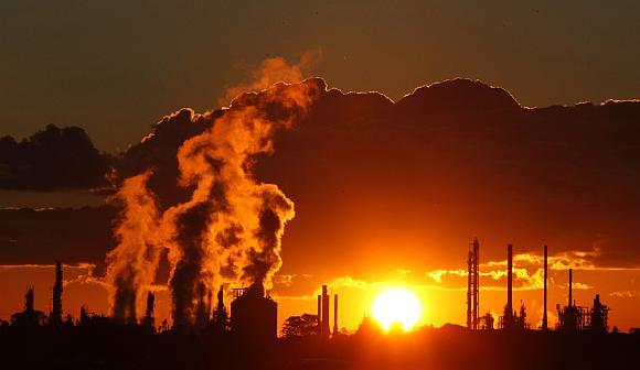 Apribojus aplinkos teršimą galima sumažinti klimato atšilimą.
