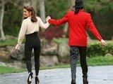 "AFP/""Scanpix"" nuotr./Lisa Marie Presley ir Michaelas Jacksonas santuokos metu"