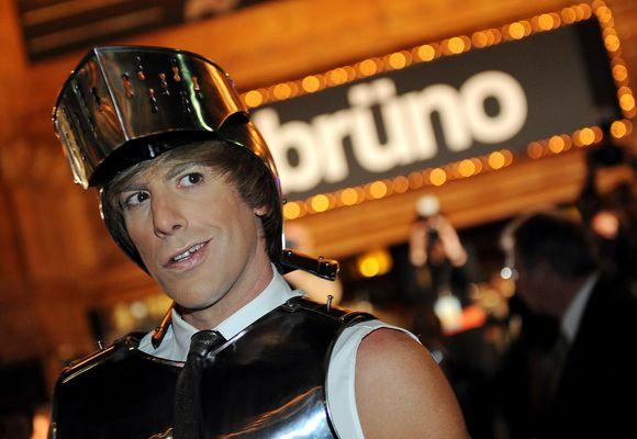 """Filmo """"Bruno"""" pristatymas jau kelia skandalus."""
