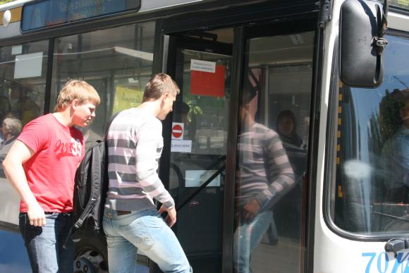 Šiltnamių gatvės gyventojai nepageidauja autobusų.