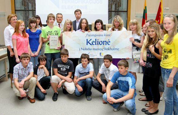 Konkurso nugalėtojais paskelbti Kauno P.Vileišio vidurinės mokyklos septintokai.