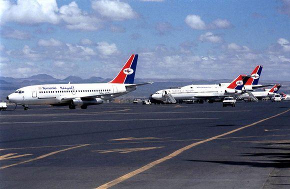 """Lėktuvai """"Yemenia"""""""