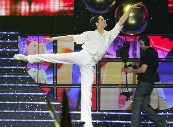 Baleto šokėjas Nerijus Juška