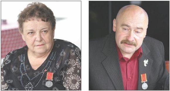 Janina Jadwiga Chmielowska ir Piotras Hlebowiczius siūlo pamiršti istorines skriaudas.
