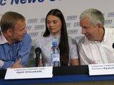 Aurimo Kuckailio/15min.lt nuotr./Iš kairės E.Skrabulis, A.Orlauskaitė ir K.Juzepčikas