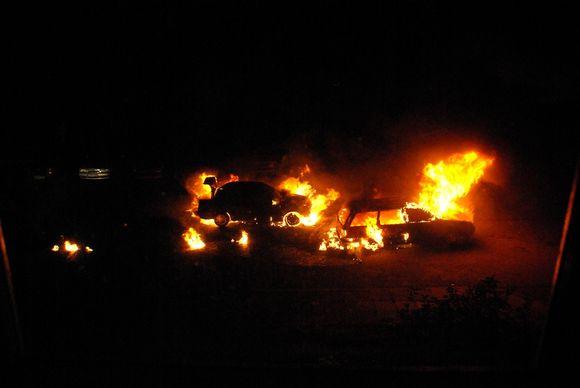 Automobilių gaisras