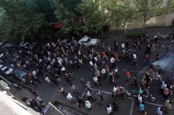 Policija vaikė demonstrantus