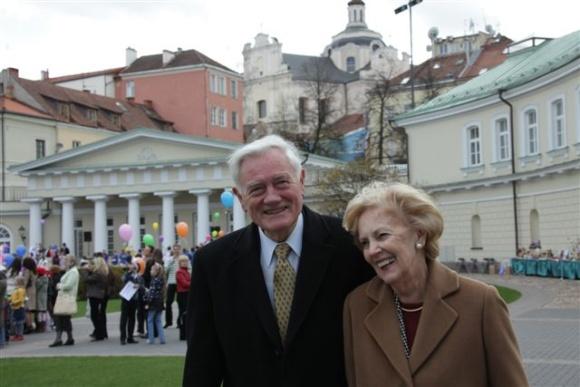 V.Adamkus su žmona Alma drauge praleido jau daugiau nei pusė amžiaus.