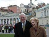 President.lt/V.Adamkus su žmona Alma drauge praleido jau daugiau nei pusė amžiaus.