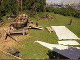 Jūrų muziejaus nuotr. /Laivo gamyba.