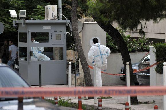 Atėnuose kėsintasis susprogdinti ministrą