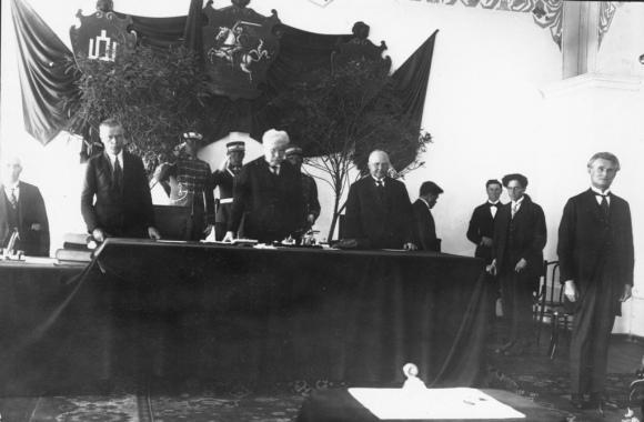 Lietuvos tarpukario prezidento Kazio Griniaus priesaika 1926 m.