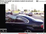 Sauliaus Chadasevičiaus/15min.lt nuotr./Po posėdžio BMW vairavo Vaidos draugė.