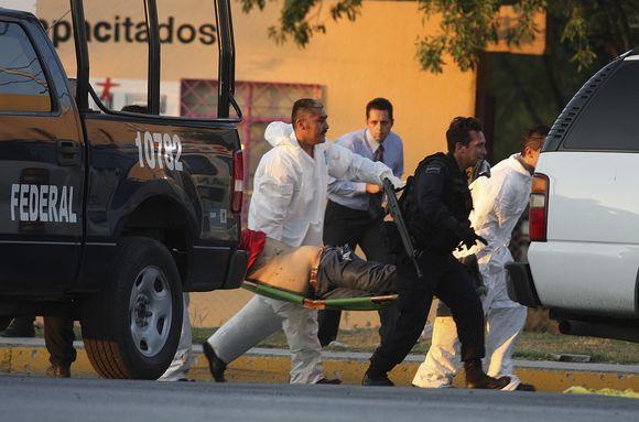 Meksikoje nesiliuaja kruvinos žudynės