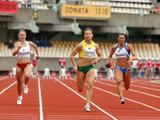 Eriko Ovčarenko/15min.lt nuotr./Šimto metrų bėgimo rungties nugalėtojos Linos Grinčikaitės triumfas