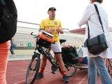 Aurelijos Kripaitės nuotr. /Norvegas Bjorn Heidenstorm keliaudamas dviračiu ketina apkeliauti pusšimtį šalių.