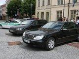 Irmanto Gelūno/15min.lt nuotr./D.Grybauskaitės automobilis.