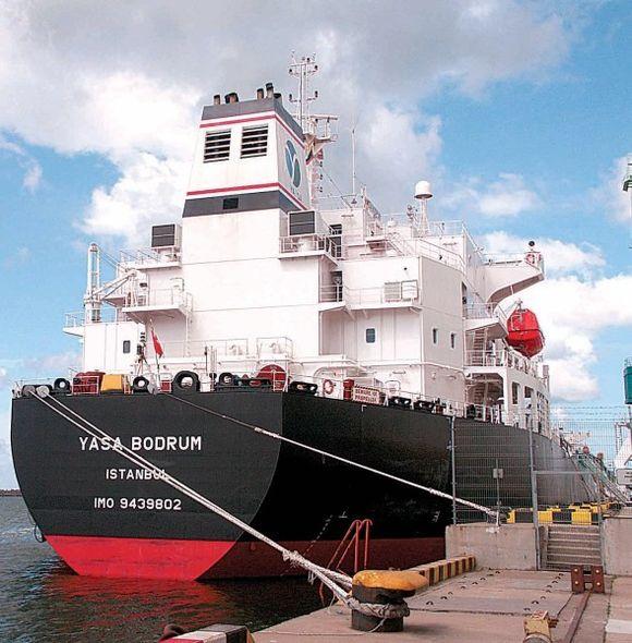 Per pirmąjį pusmetį šiame uoste perkrauta 185 mln. tonų krovinių - 13,4 proc. mažiau negu per 6 mėnesius pernai