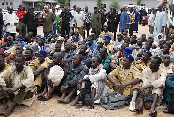 Areštuoti Nigerijos islamistai