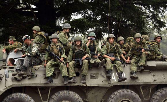 Rusijos kariai Pietų Osetijoje