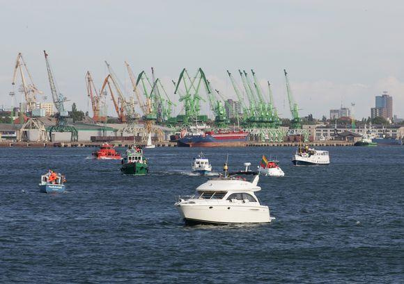 Švenčių uoste laukia ne tik įmonių kolektyvai, renginių organizatoriai, bet ir miesto valdžia, skaičiuojanti biudžeto pajamas.