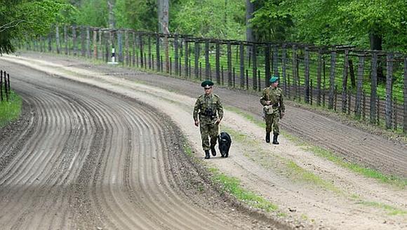 Baltarusijos pasieniečiai