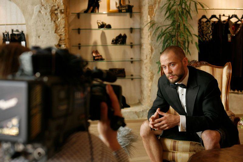 Foto naujienai: Naująjį sezoną televizijoje Rimas Valeikis dirbs asistentu