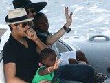 """""""Scanpix"""" nuotr./Madonna gimtadienį šventė su brazilų modeliu Jesusu ir keturiais savo vaikais."""
