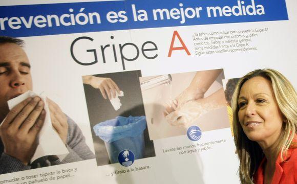 Ispanijos sveikatos apsaugos ministrė Trinindad Jimenez