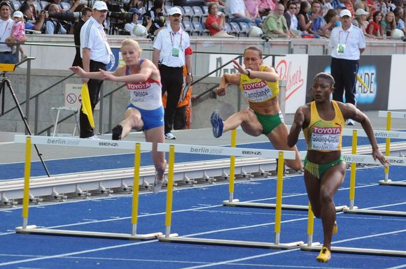 S.Tamošaitytė savo bėgime buvo priešpaskutinė.