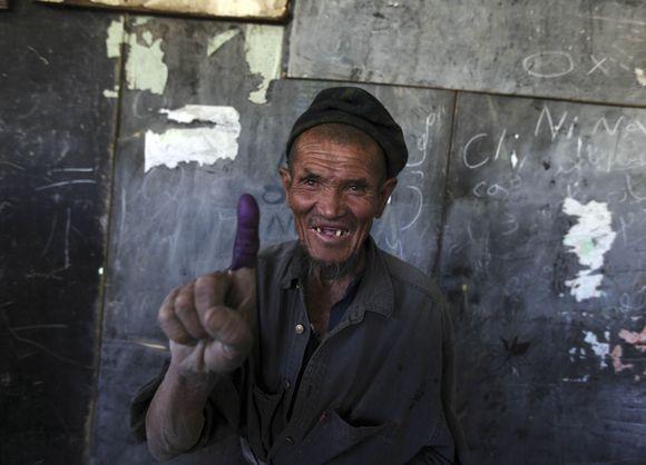 Rinkimuose buvo pažymimi balsavusiųjų pirštai
