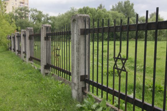 Žydų kapinės.