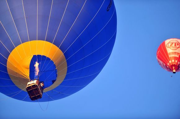 Prancūzijoje oro balionų varžybos