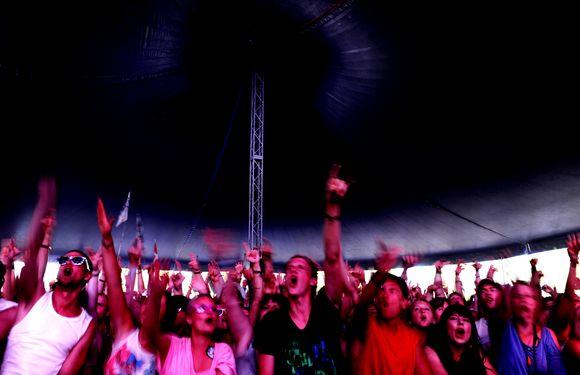 Šiemet Roskildės festivalį aplankė apie 70 tūkst. žiūrovų.