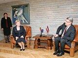 BFL nuotr./Prezidentė D.Grybauskaitė viešėdama Latvijoje nesakė kalbos latviškai. O Latvijos prezidentas V.Zatleras savo lietuviška iškalba lietuvius sužavėjo dar užpernai.