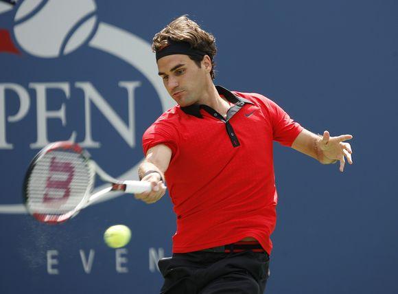 """R.Federeris """"US Open""""  istorijoje iškovojo jau 35-ą pergalę iš eilės."""