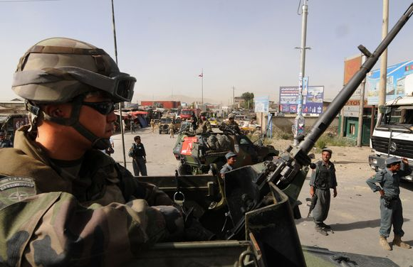 JAV karys Kabule