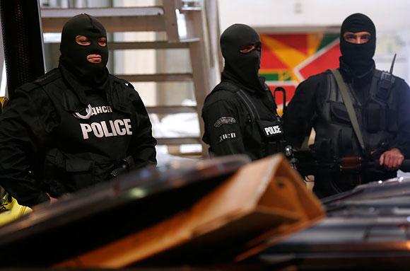 Bulgarijos antiteroristinių operacijų kovotojai